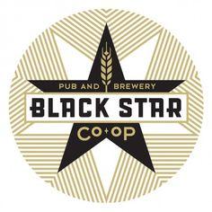 Black Star Co-op #beer #logo