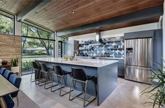 Central Austin House Remodeled in the Spirit of the Original Mid-Century House 5, kitchen