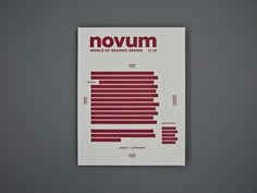 Novum 11/13 Covergestaltung #book #cover #magazine #screen print #hardcover #gebrauchsgraphik #novum