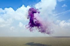 雲·贰 | Flickr - Photo Sharing! #smoke #design #photography #purple #bomb