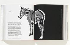 Claire Morgan Creative: Alan Fletcher #design #fletcher #zebra #alan #editorial #bn