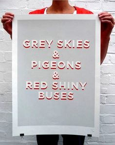 Grey Skies poster « Studio8 Design