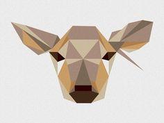 Dribbble - Jelenia - part two by Małgorzata Kieliszek #illustration #shapes #geometric