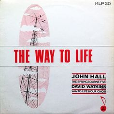Cover Me, I'm Going In | Record Cover Art | John Hall – The Way To Life #record #vinyl #cover