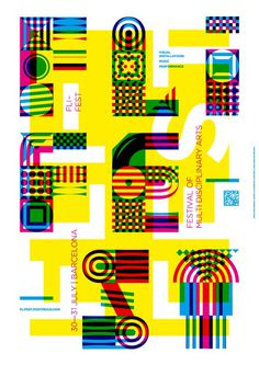 FliFest 2011 #yellow #design #graphic #poster