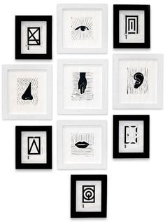Senses & Functions | Exhibition on Behance #frames #pictures