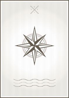 Compassrose #sea #design #poster