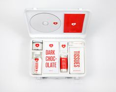 Heal Your Broken Heart: Love Hurts Kit by Melanie Chernock #branding #products #design #stationery #love