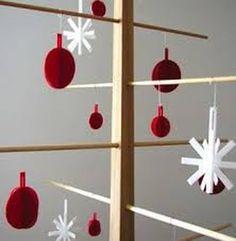 Christmas paper decoration