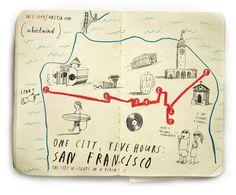 maps #map #illustration #comic #city #ink #funny