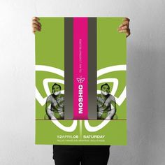 projectgraphics - typo/graphic posters #moshic #kosovo #event #prishtina #projectgraphics #poster