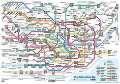 A Perfect Design? - Jamie Wieck - Design, Illustration & Creative Thinking #information #visualisation #design #subway #tokyo #data #maps