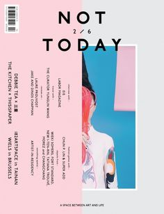 magazinewall:  Not Today (Taiwan)