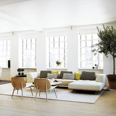 The Design Chaser: Homes to Inspire | Danish Loft Apartment