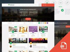 Duhoot : Travel PSD Web Template