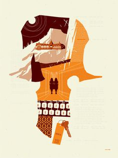 Room 237 by Tom Whalen | Reelizer #poster