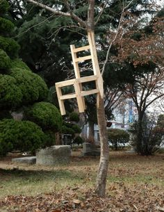 chair by Myeongbeom Kim #chair #carpenter #tree