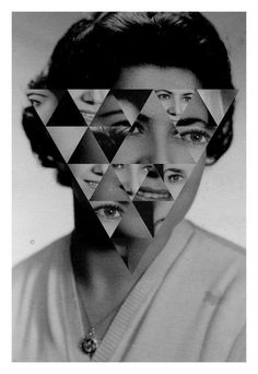 Alexandros Mavrogiannis / Graphic & Interactive Design #edit #faces #triangles