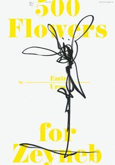 500 Flowers for Zeyneb — Company #flower #zeyneb #poster #company
