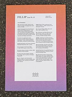 manystuff.org — Graphic Design daily selection » Blog Archive » Fillip 16: Berlin Launch