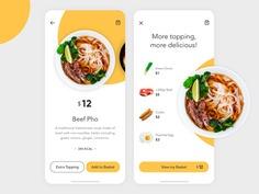 Food App – Beef Pho