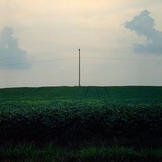 Untitled | Flickr - Photo Sharing! #justin #clouds #lines #broadway #sky #power #photography #pole #farm #telephone