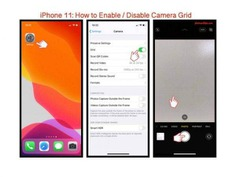 iPhone 11: How to Enable / Disable Camera Grid. @photoandtips #iphone #iphone11 #iphonecamera #iphone11pro #iphone11promax #iphonephotography #iphonecameratravel #iphone11tips #iphonecamera #iphonephototips #iphonephoto #iphone11travel #iphoneimage #photography #photoandtips #smartphonecamera #smartphonephoto #photographytips #traveltips