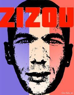 zizou #les #footballer #zizou #bleus #fff