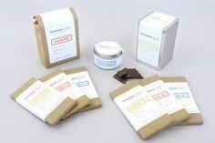 Yonderandco #packaging #chocolate #label #food