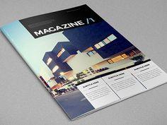 Architecture Minimal Magazine.  Download here: http://graphicriver.net/item/architecture-minimal-magazine/6982340?ref=abradesign