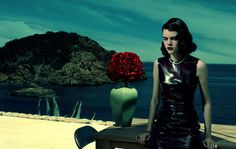 Antonia Wesseloh by Jacques Olivar for Marie Claire Italy #fashion #model #photography #girl