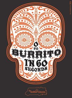 Latin Wagon: Burrito, Latin Wagon, Bohan, Latin Wagon, Print, Outdoor, Ads