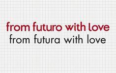 Esteve Padilla ➽ ohhh.ws #futuro #ohhh #futura #love #typography