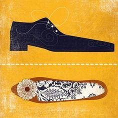 swissmiss | Andrew Bannecker | Illustrator #illustration #shoe
