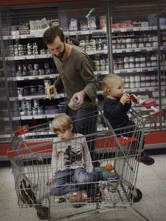 Swedish Dads: Johan Bävman Documents Stay-At-Home Dads And Their Kids