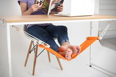 FUUT Desk Feet Hammock #cool gadget #gadget #gadget flow #gift ideas #tech