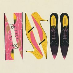 Helen Anna - Journal #illustration #shoes #pointy