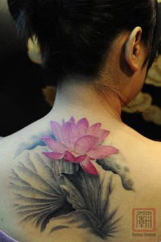 50 Elegent Lotus Tattoo Designs #tattoo #designs #lotus