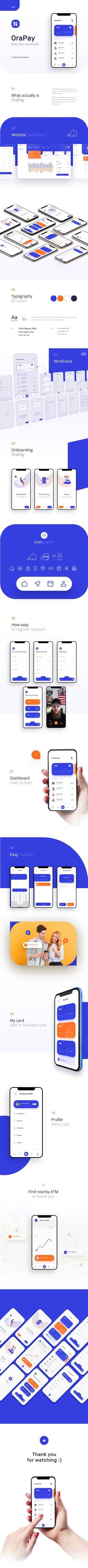 Financial App Design – Fintech