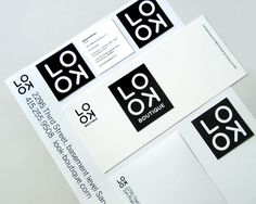 lookboutique_brandid_02 #logo #identity #typography