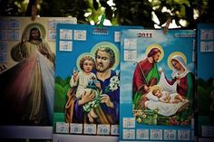 The day of the dead on the Behance Network #2011 #christ #calendar #philippines