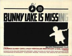 Graphic design(Bunny Lake is Missing, by Saul Bass, 1965. Via vintageho) #bass #saul #design #graphic