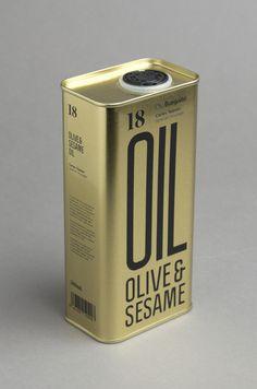 OLIVE & SESAME OIL (Packaging) by Lo Siento Studio, Barcelona #packaging