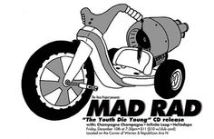 GigPosters.com - Mad Rad - Champagne Champagne - Helladope