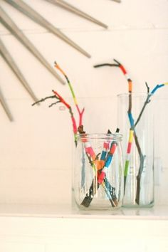 ab-sticks1.jpg (JPEG Image, 500 × 749 pixels) #twigs #branches #color #sticks
