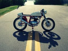 Honda CB200T #machine #racer #cafe #vintage #honda #motorcycle