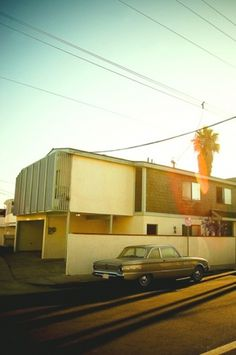 GILES LAMBERT. PHOTOGRAPHY. #sunset #car #california #street