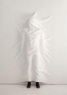White walls - Wall to Watch #installation #blanket #design #exhibition #wall #art #surreal