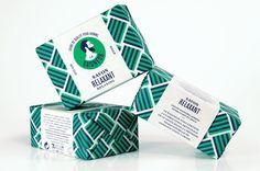 Le Baigneur soap packaging by Müesli