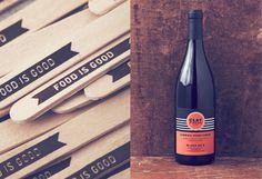 Stitch Design via www.mr cup.com #wine #bottle